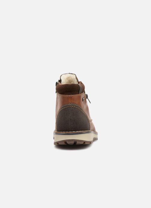 Bottines et boots Rieker Achil 38433 Marron vue droite