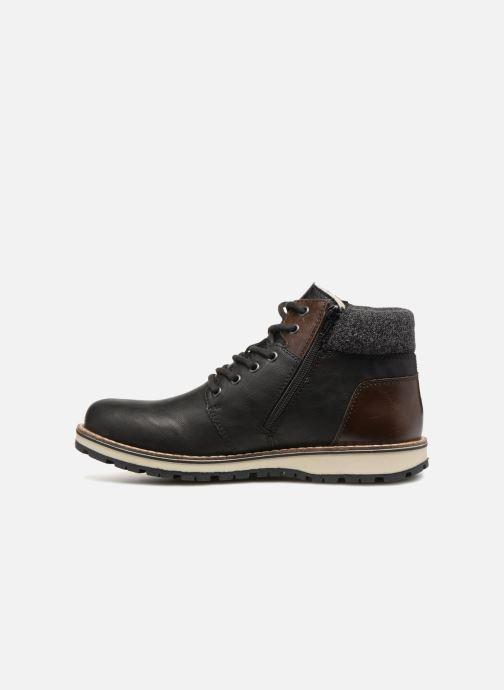 Boots en enkellaarsjes Rieker Adam 38434 Zwart voorkant