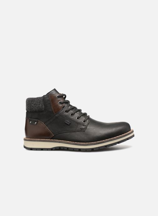Boots en enkellaarsjes Rieker Adam 38434 Zwart achterkant