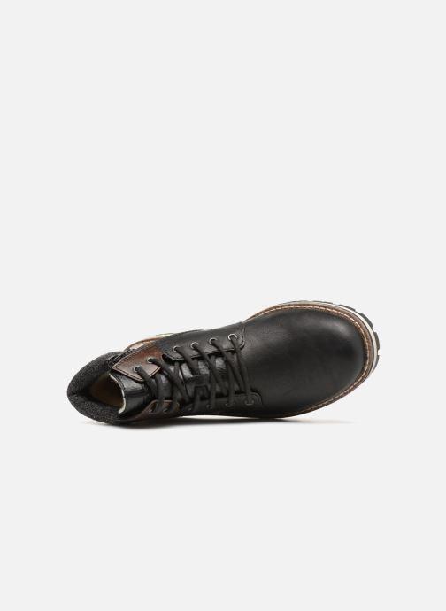 Boots en enkellaarsjes Rieker Adam 38434 Zwart links