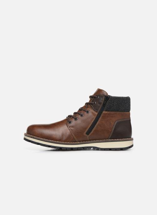Boots en enkellaarsjes Rieker Adam 38434 Bruin voorkant