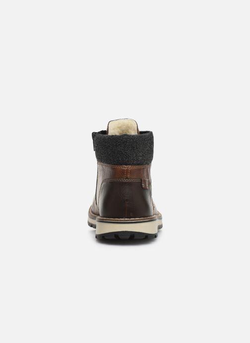 Boots en enkellaarsjes Rieker Adam 38434 Bruin rechts