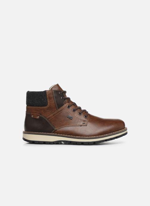 Boots en enkellaarsjes Rieker Adam 38434 Bruin achterkant