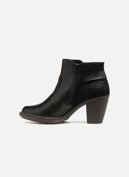 Bottines et boots Rieker Candice 55292 Noir vue face