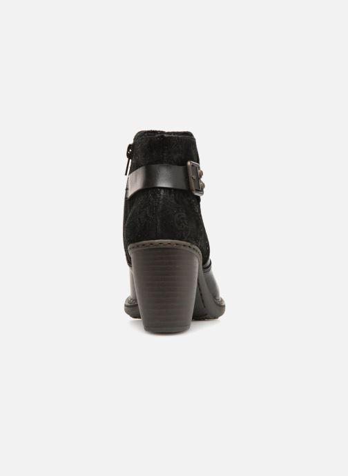 Bottines et boots Rieker Candice 55292 Noir vue droite