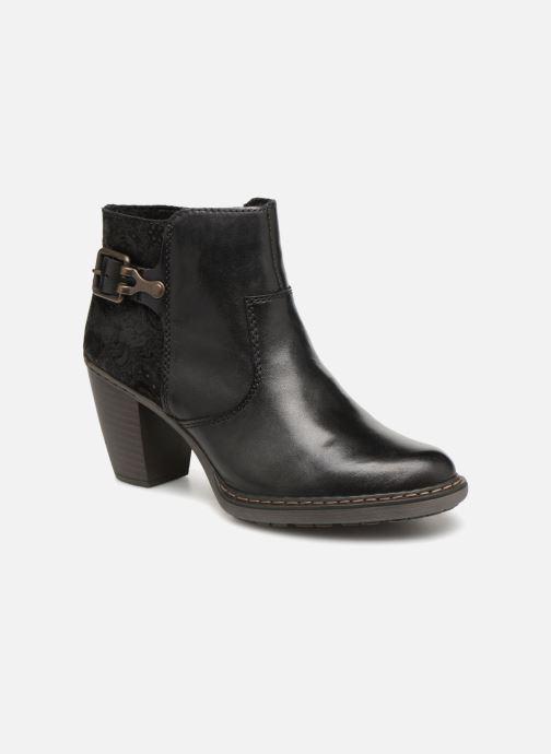 Bottines et boots Rieker Candice 55292 Noir vue détail/paire