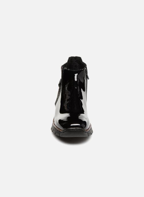 Bottines et boots Rieker Celestine 73771 Noir vue portées chaussures