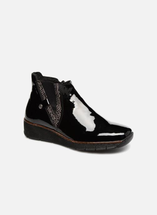 Bottines et boots Rieker Celestine 73771 Noir vue détail/paire