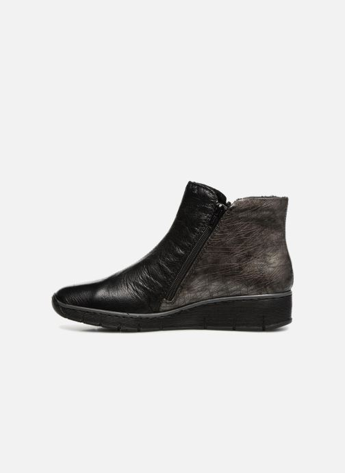 Rieker Chiara 73781 (Noir) Bottines et boots chez Sarenza