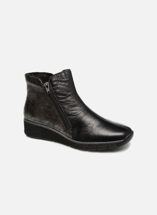 Ankelstøvler Rieker Chiara 73781 Sort detaljeret billede af skoene