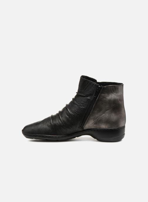 Boots en enkellaarsjes Rieker Davia 78381 Zwart voorkant