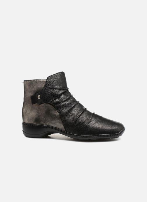 Boots en enkellaarsjes Rieker Davia 78381 Zwart achterkant
