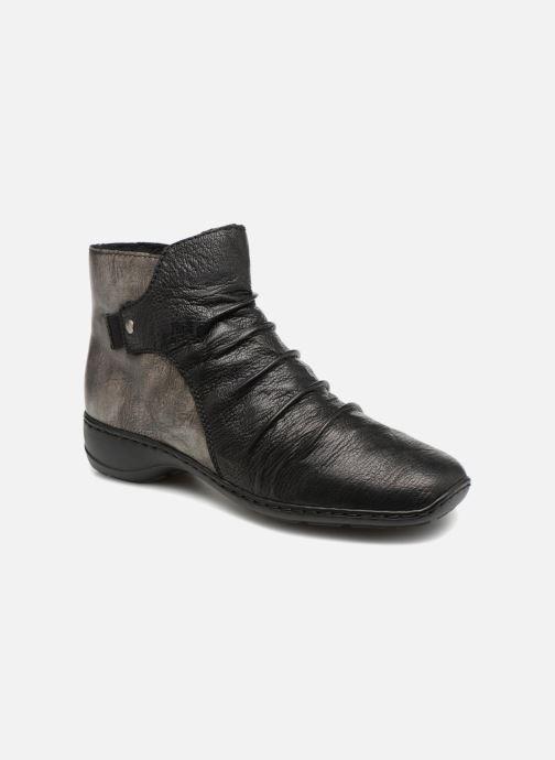 Boots en enkellaarsjes Rieker Davia 78381 Zwart detail