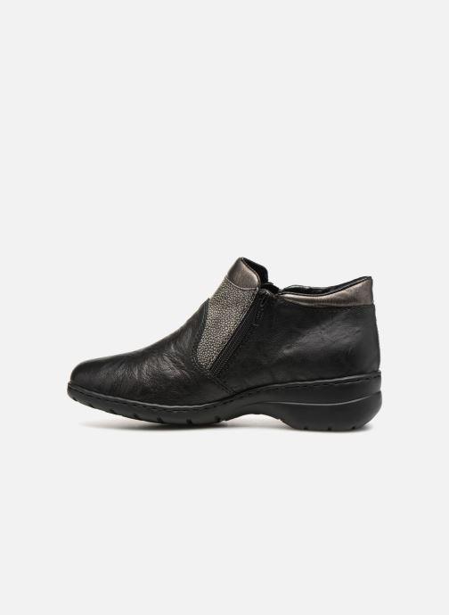 Bottines et boots Rieker Dara L4391 Noir vue face