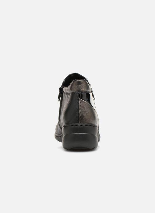 Bottines et boots Rieker Dara L4391 Noir vue droite