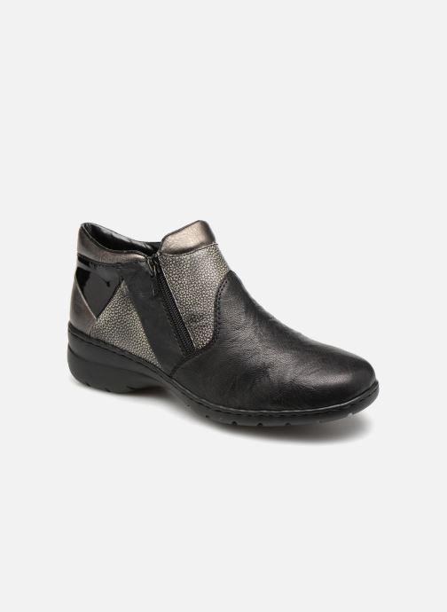 Bottines et boots Rieker Dara L4391 Noir vue détail/paire