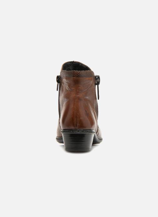 Bottines et boots Rieker Emilia Y0727 Marron vue droite