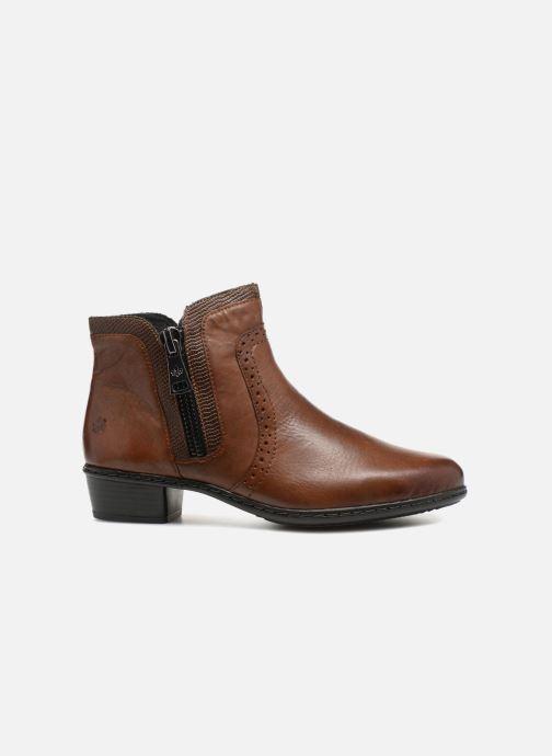 Bottines et boots Rieker Emilia Y0727 Marron vue derrière