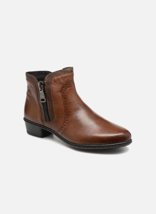 Bottines et boots Rieker Emilia Y0727 Marron vue détail/paire