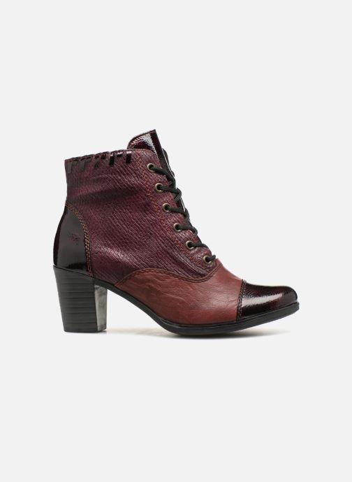 Bottines et boots Rieker Enora Y8938 Bordeaux vue derrière