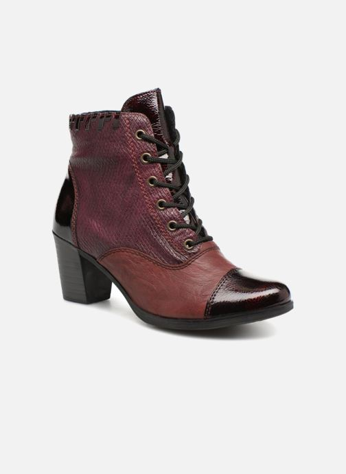 Bottines et boots Rieker Enora Y8938 Bordeaux vue détail/paire
