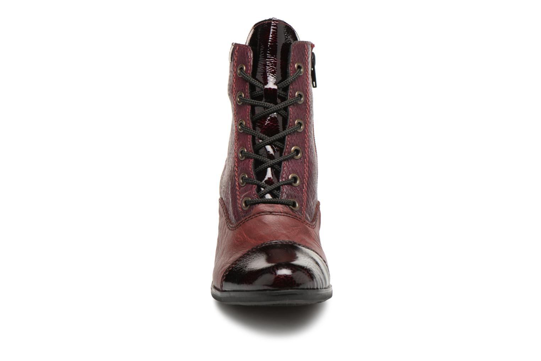 Bottines et boots Rieker Enora Y8938 Bordeaux vue portées chaussures