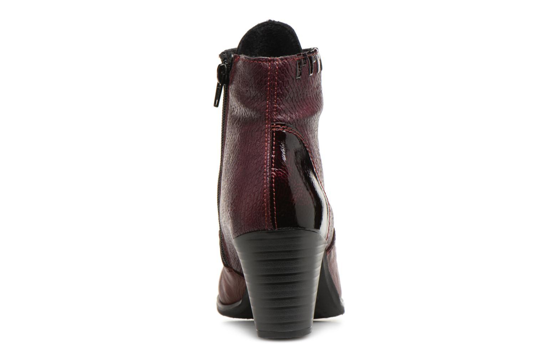 Bottines et boots Rieker Enora Y8938 Bordeaux vue droite