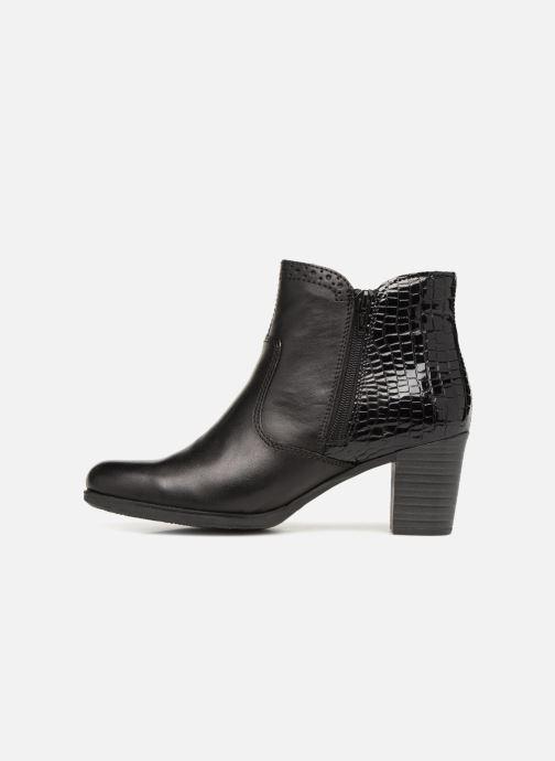 Bottines et boots Rieker Evelina Y8965 Noir vue face