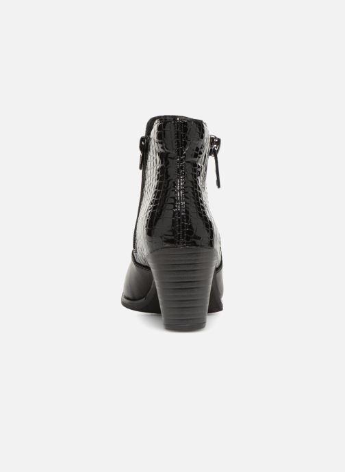 Bottines et boots Rieker Evelina Y8965 Noir vue droite