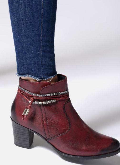 Boots en enkellaarsjes Rieker Frida Y8999 Bordeaux onder