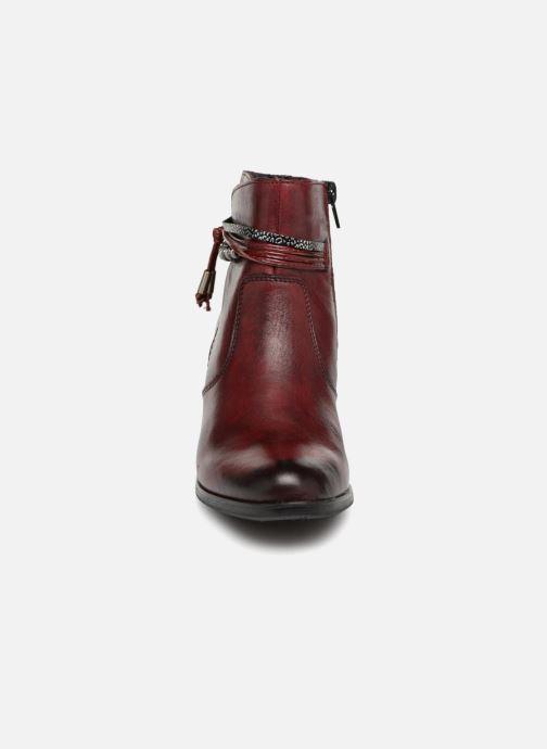 Bottines et boots Rieker Frida Y8999 Bordeaux vue portées chaussures