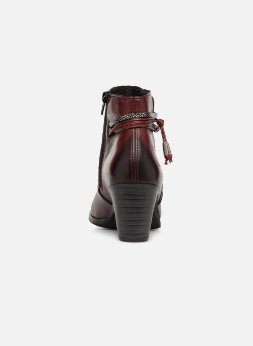 Boots en enkellaarsjes Rieker Frida Y8999 Bordeaux rechts