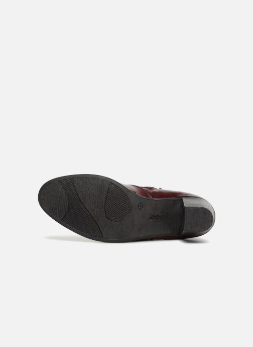 Boots en enkellaarsjes Rieker Frida Y8999 Bordeaux boven