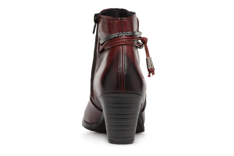 Bottines et boots Rieker Frida Y8999 Bordeaux vue droite