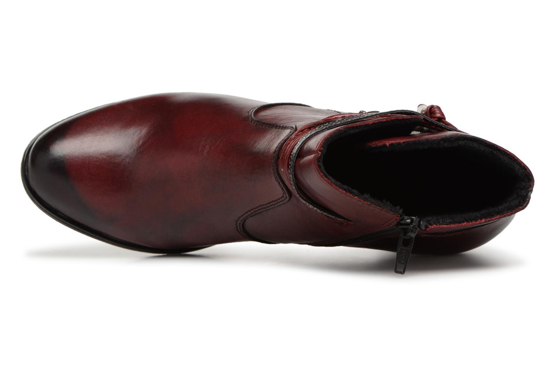 Bottines et boots Rieker Frida Y8999 Bordeaux vue gauche