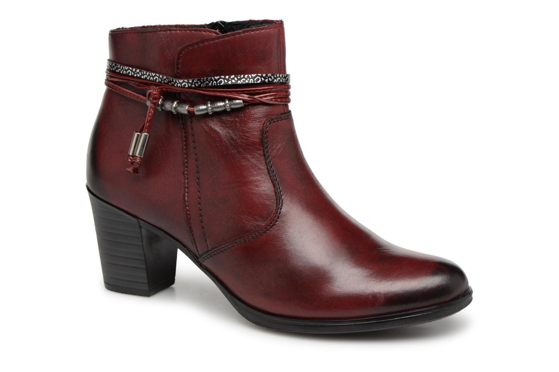 Bottines et boots Rieker Frida Y8999 Bordeaux vue détail/paire