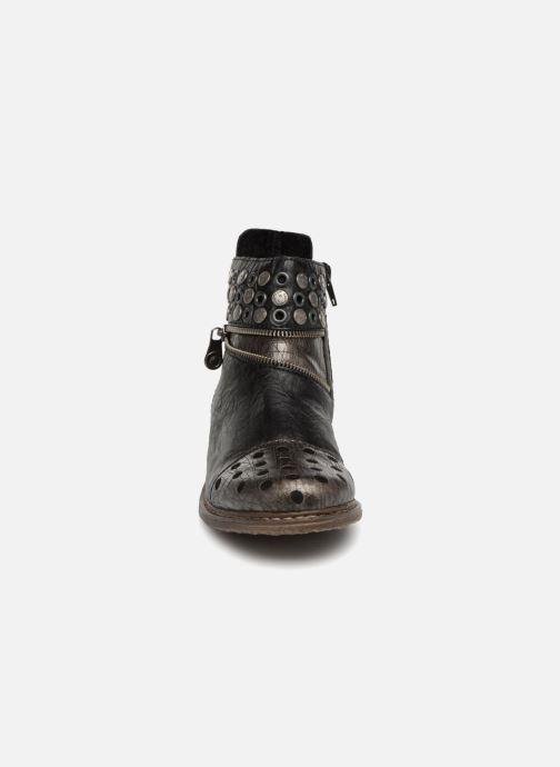 Bottines et boots Rieker Ilona Z2163 Gris vue portées chaussures