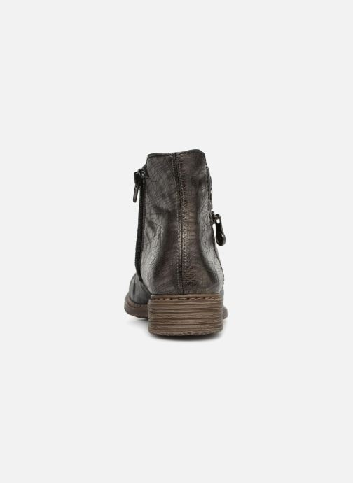 Bottines et boots Rieker Ilona Z2163 Gris vue droite