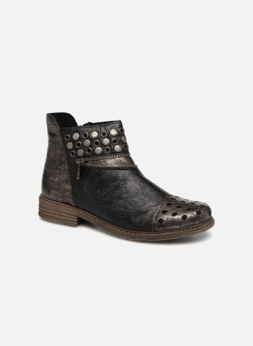 Bottines et boots Rieker Ilona Z2163 Gris vue détail/paire