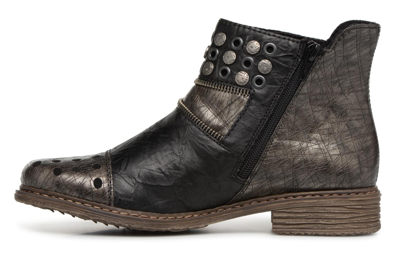 Ankle boots Rieker Ilona Z2163 Grey front view