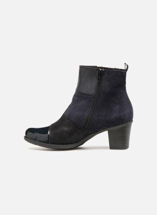 Bottines et boots Rieker Inaya Z7686 Bleu vue face