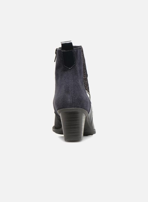 Ankle boots Rieker Inaya Z7686 Blue view from the right