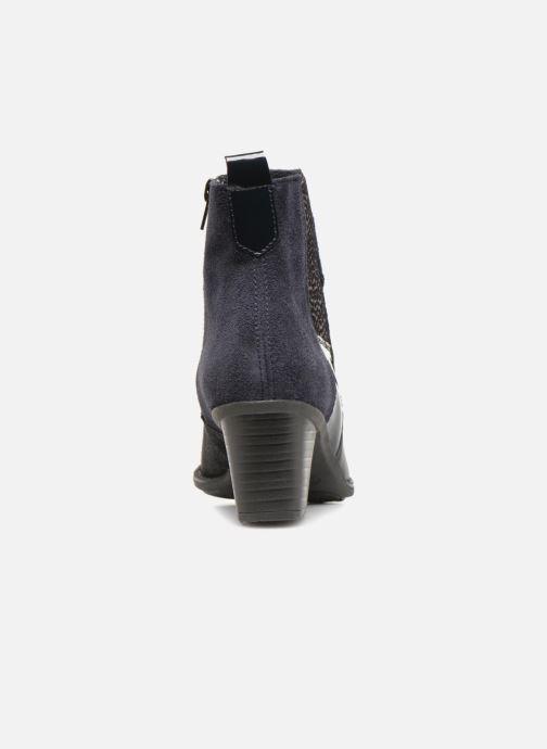 Bottines et boots Rieker Inaya Z7686 Bleu vue droite