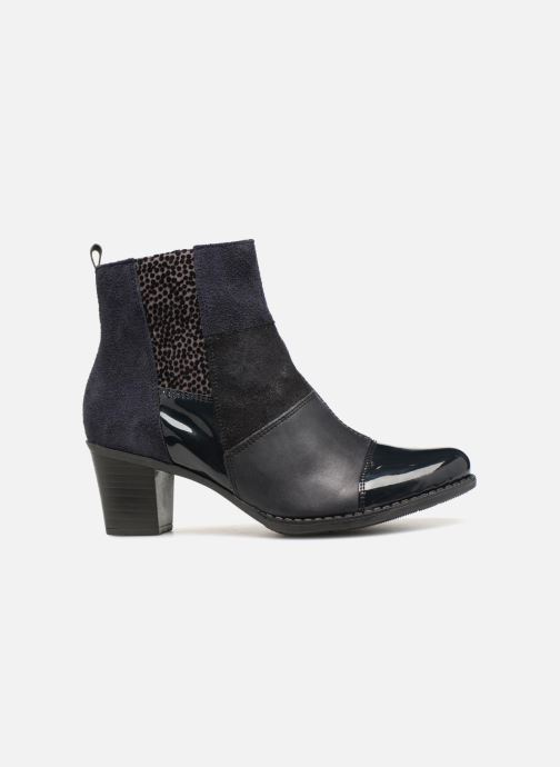 Ankle boots Rieker Inaya Z7686 Blue back view