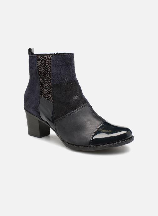 Bottines et boots Rieker Inaya Z7686 Bleu vue détail/paire