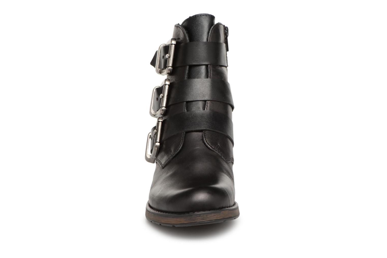 Bottines et boots Rieker Giulia Z9574 Noir vue portées chaussures