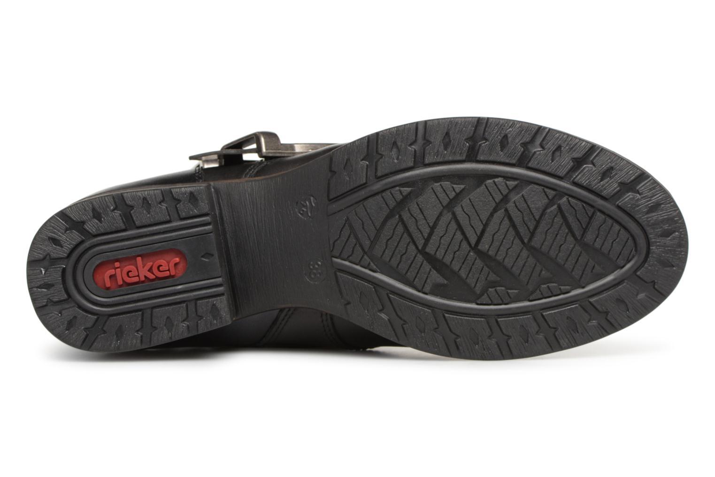 Bottines et boots Rieker Giulia Z9574 Noir vue haut