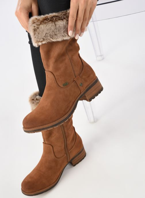 Boots & wellies Rieker Bonnie 96854 Brown view from underneath / model view