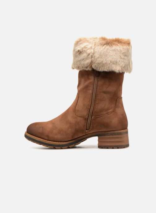 Boots & wellies Rieker Bonnie 96854 Brown front view