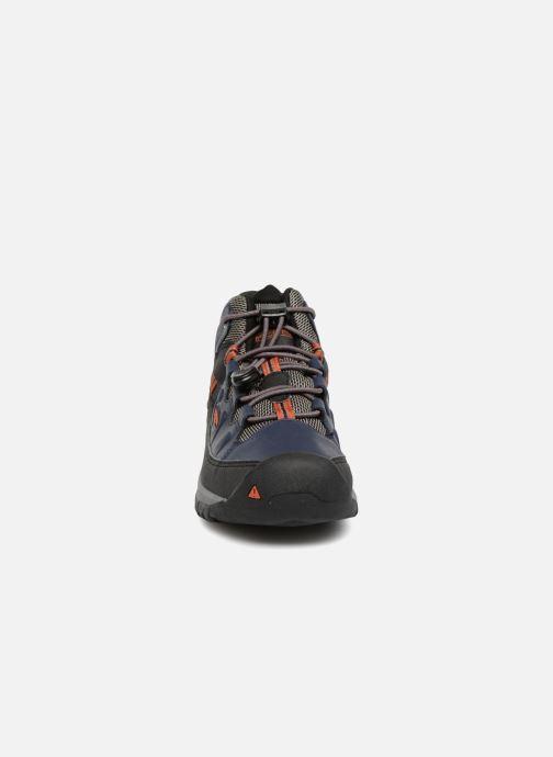 Chaussures de sport Keen Targhee Mid Bleu vue portées chaussures
